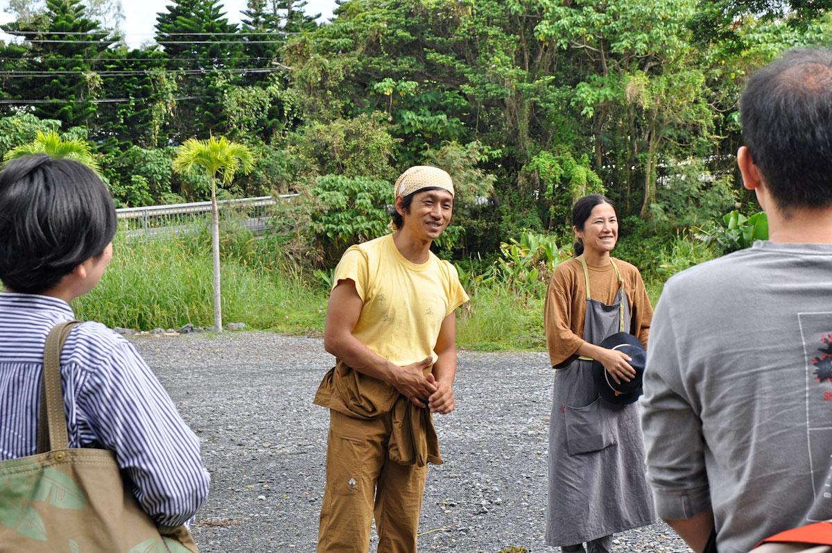 養蜂家・三浦大樹さんと奥さんの藍子さん