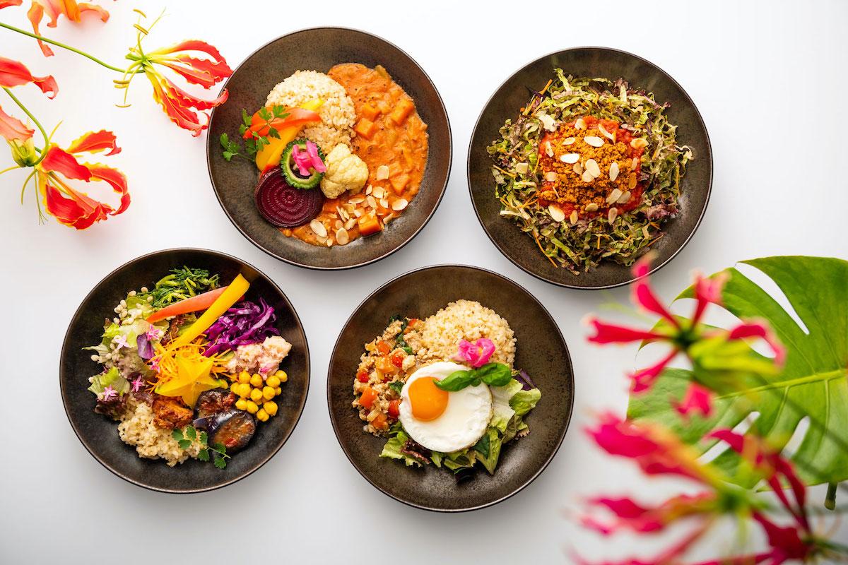 島野菜や果物、沖縄素材をカジュアルに。樂園CAFÉのメニューリフレッシュ